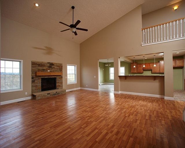 Winchester Floor Plan Two Story Master Down Home Wayne Homes