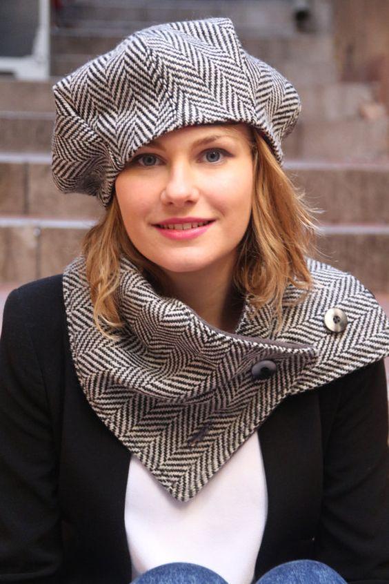 Модные женские шапки: осень - зима 2017 года на фото ...