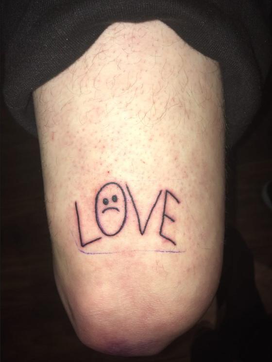 Aesthetic Lil Peep Rose Tattoo Https Rose 99tattooideas Com Aesthetic Lil Peep Rose Tattoo Html