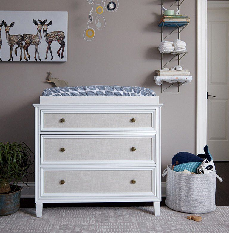 How To Design A Baby Nursery In Six Steps Changing Table Decor