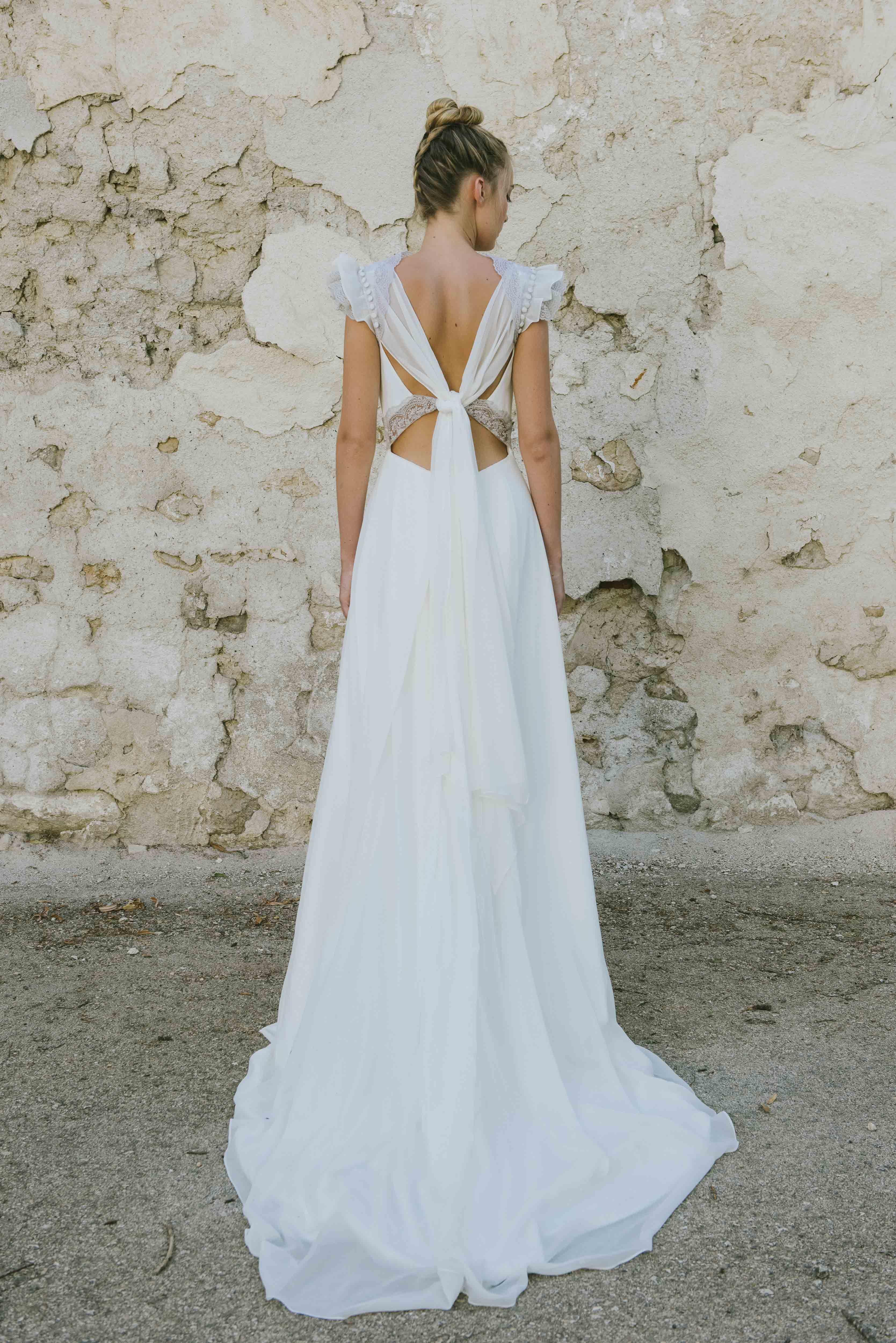 Vestido Clea. Lookbook nueva colección de novia \