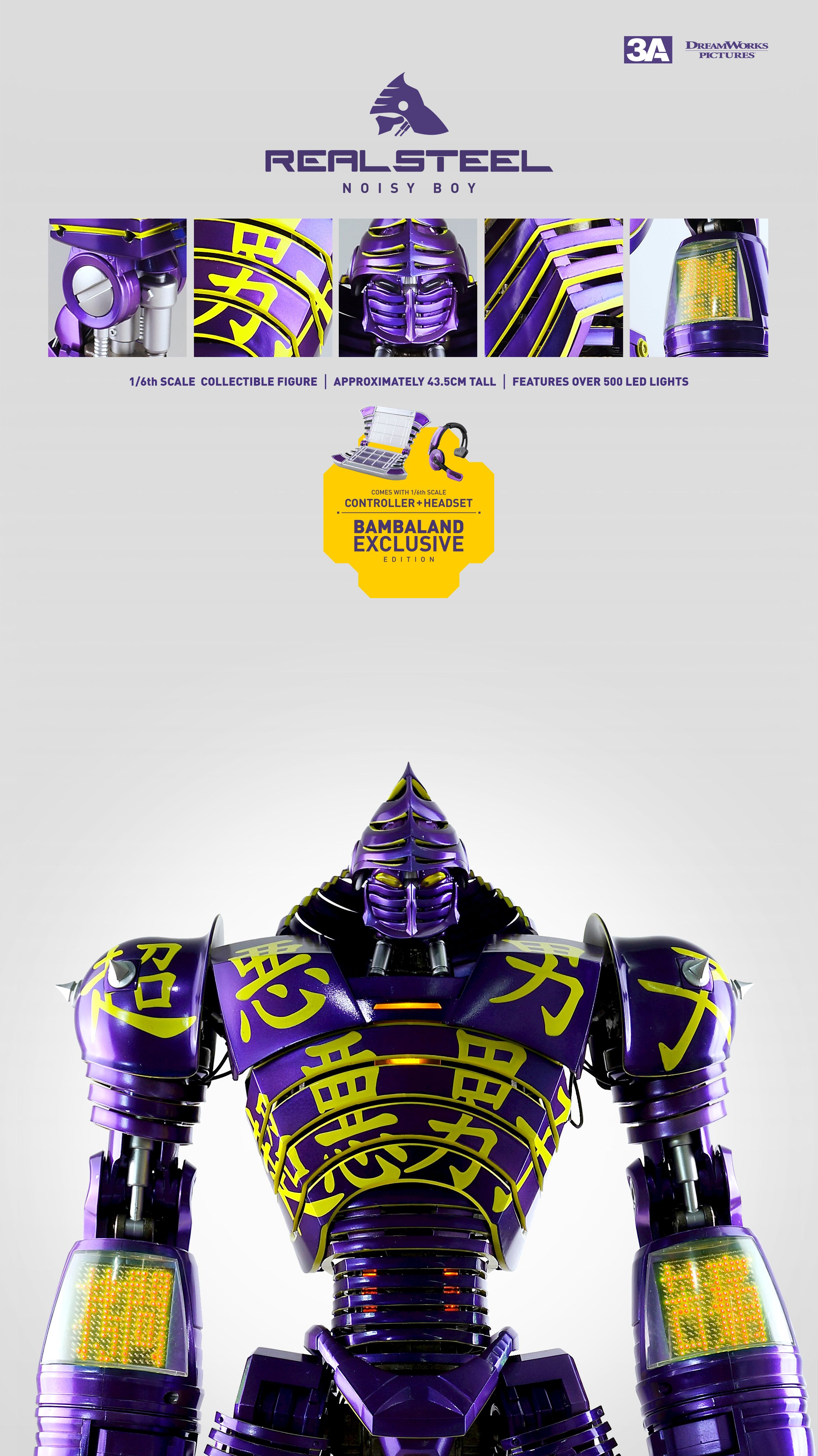 Character Design Hong Kong : Our fourth figure from real steel movie license noisy boy