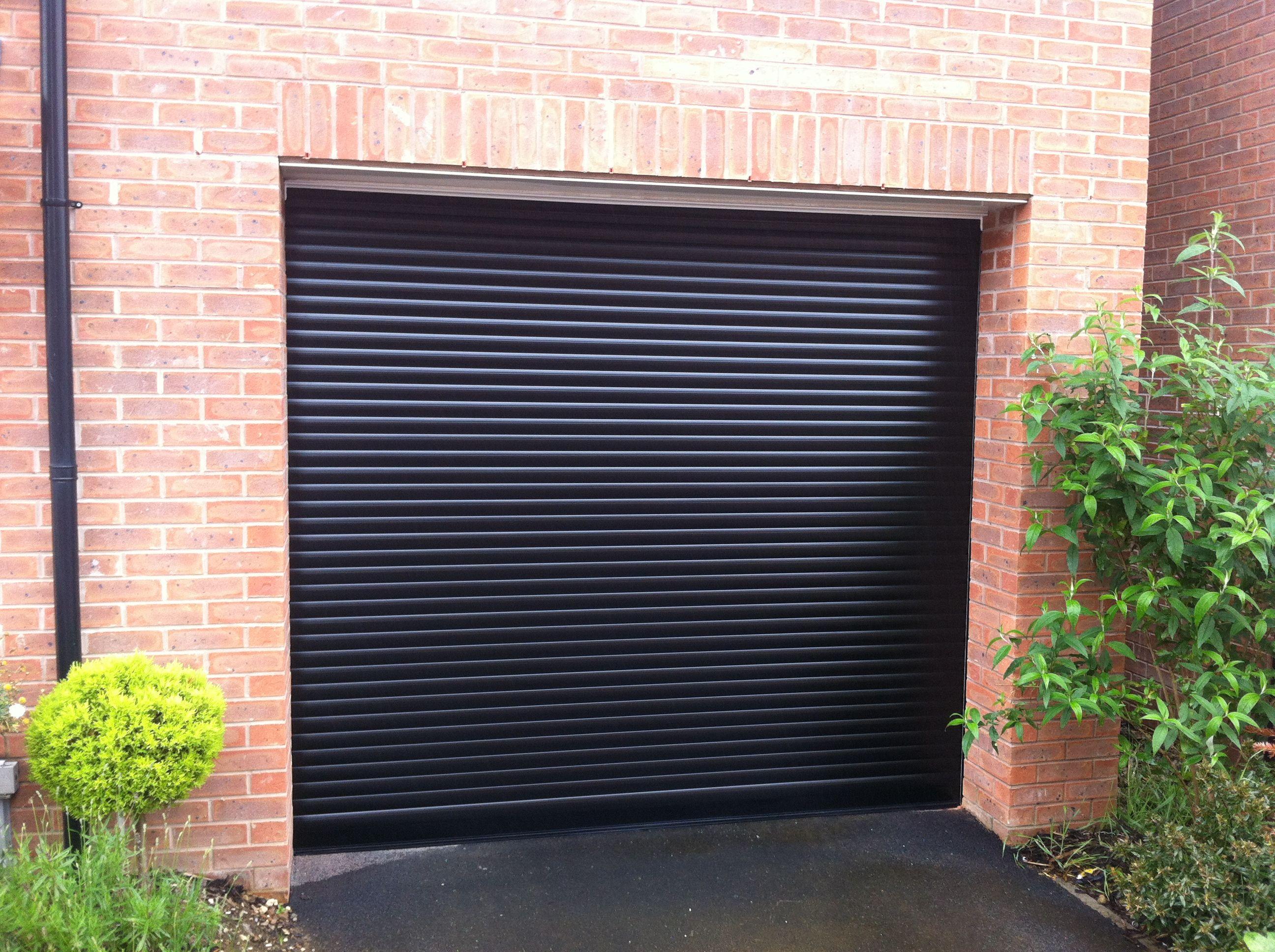 SWS SeceuroGlide Roller Garage Door in Black. #SWS #Roller #GarageDoor & SWS SeceuroGlide Roller Garage Door in Black. #SWS #Roller ...
