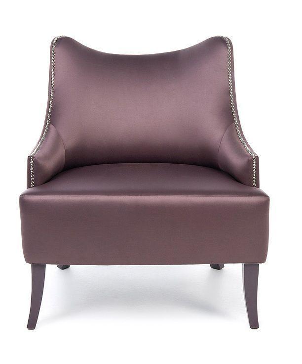 Stuhl Mit Hocker In Creme Sessel Einzigen Stoff Stuhl