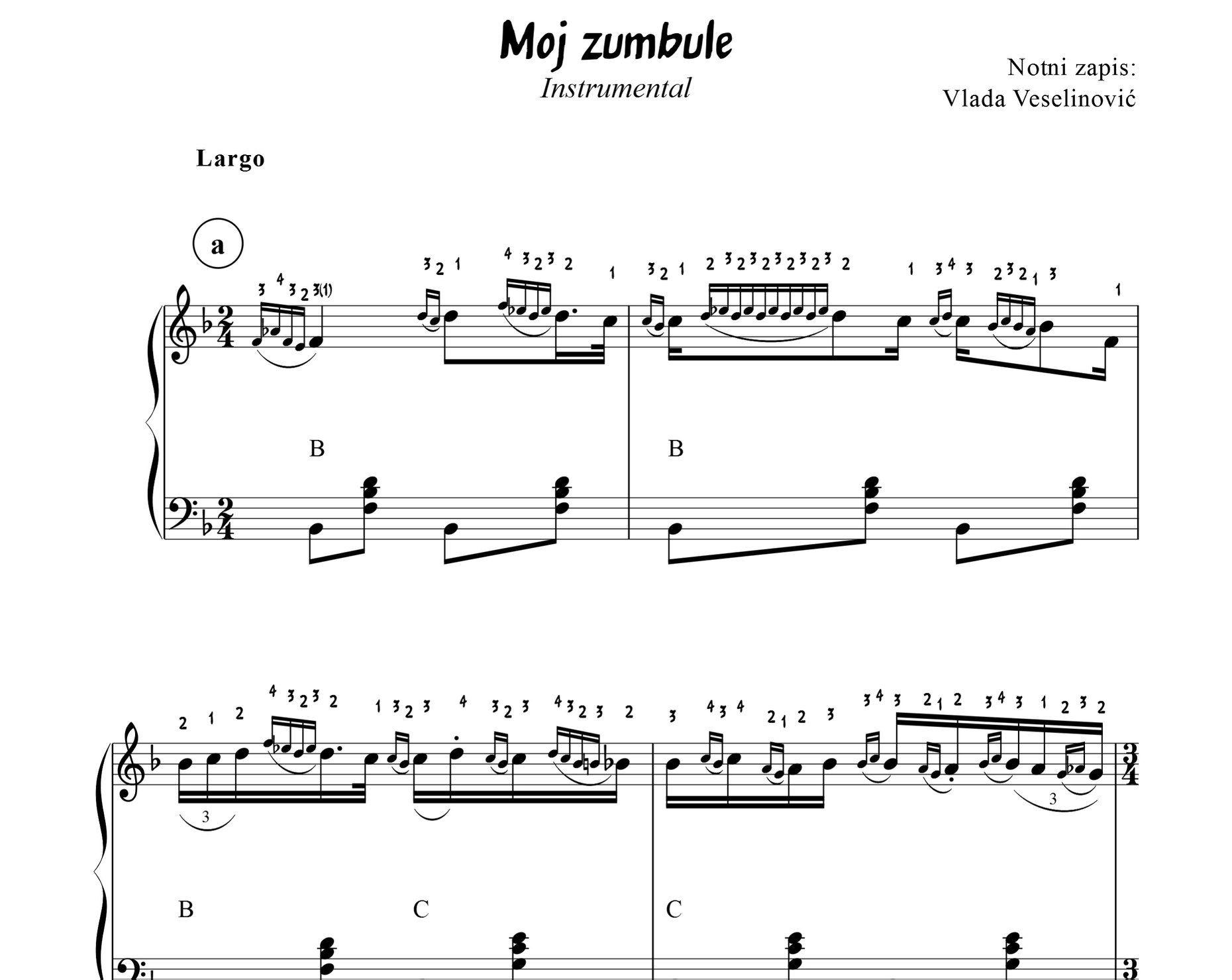 Knjiga Pesma I Harmonika 2 Notes Sheet Music In This Moment