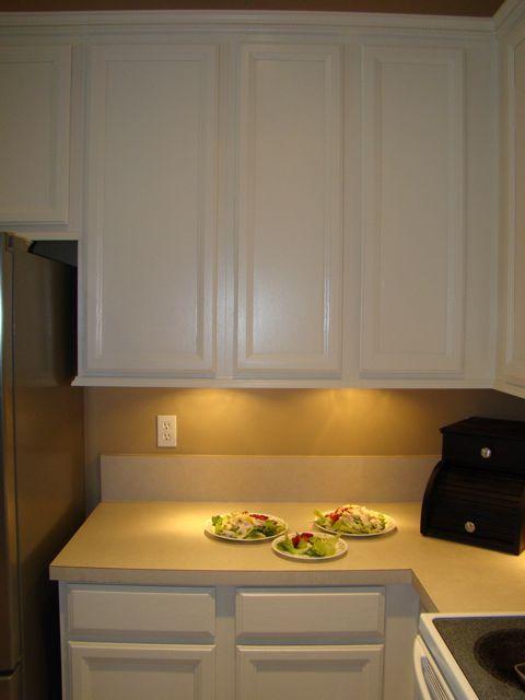 Pin By Karen ~ SavingTheFamilyMoney.com On Do It Yourself Today | Pinterest  | Diy Kitchen Cabinet Lights, Cabinet Lighting And Kitchens