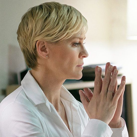 Robin Wright Haircut: Claire Underwood Makeup House Of Cards