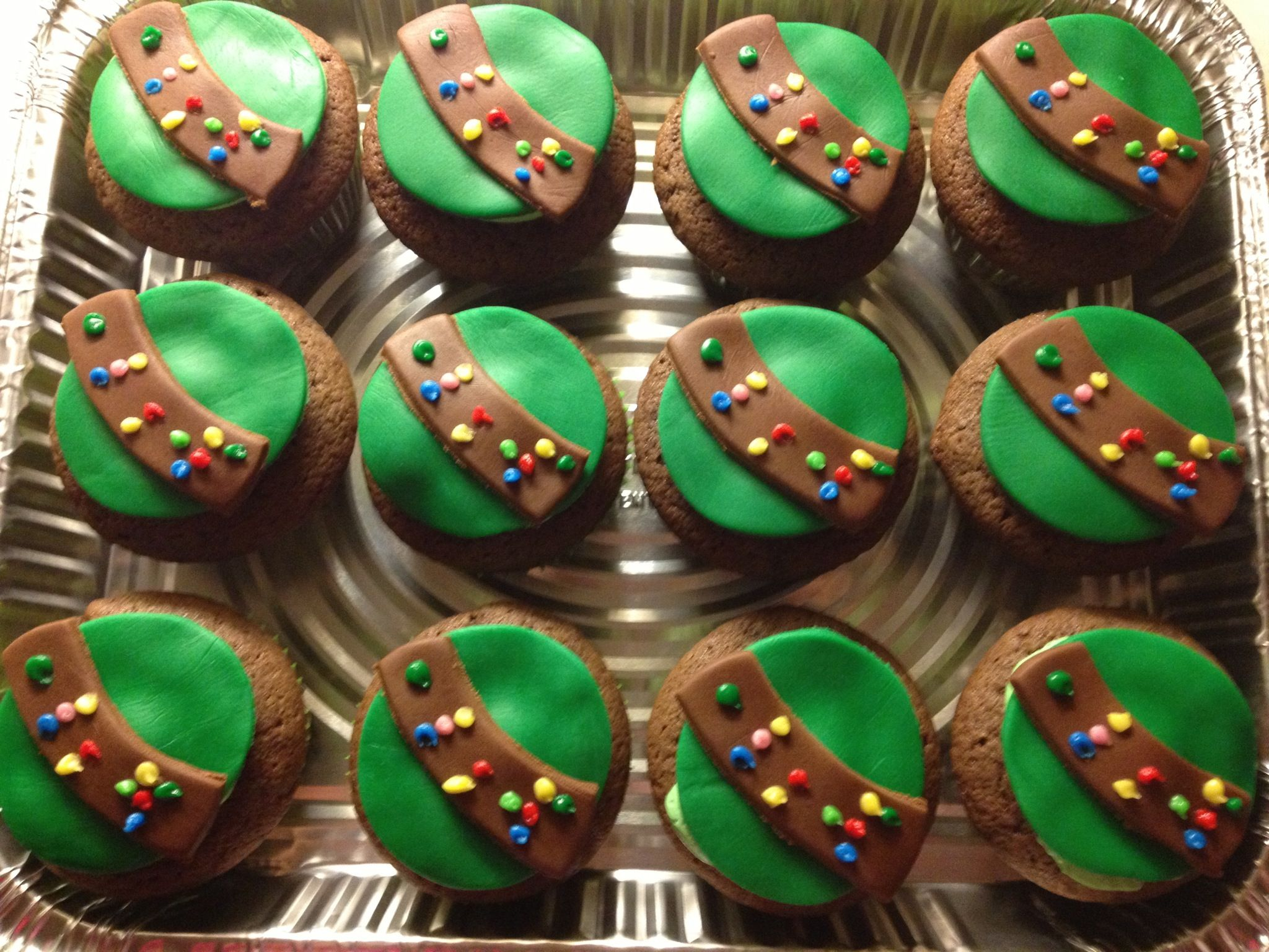 Girl Scout Inspired Cupcakes Striclee Sweet Girl
