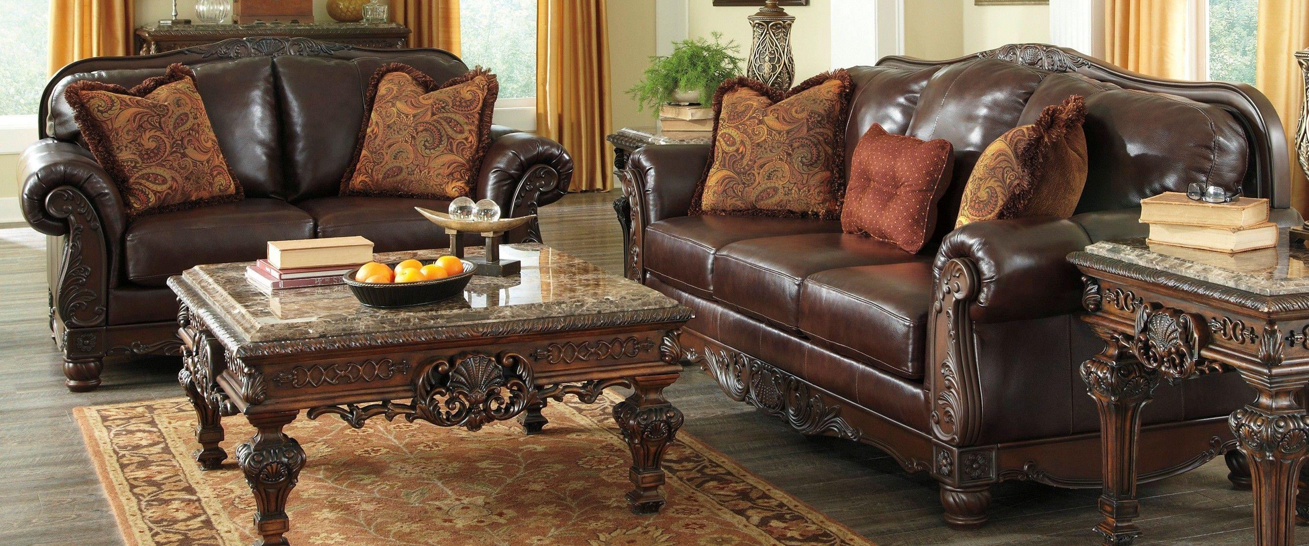 Ashley Furniture Living Room Sets Prices Art Wall Buy 2310038 2310035 Set North Shore Plus Coffee Bringithomefurniture Com