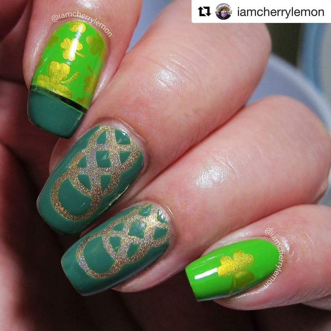 Magnificent Celtic Nail Art Illustration - Nail Art Ideas - morihati.com