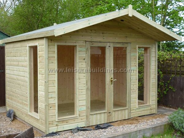Platinum Stamford Contemporary Summer House for Sale Landscaping