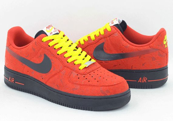 air force one nike red