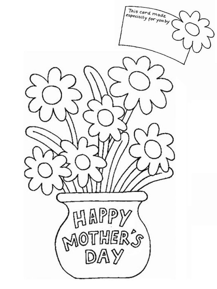 Mother's Day Coloring Page. May 12 Is Celebrated As International Mother's  Day. Most People… Mother's Day Colors, Mothers Day Coloring Pages, Mothers  Day Drawings