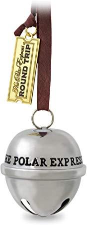 Amazon Com Hallmark Keepsake Christmas Ornament 2019 Year Dated Santa S Metal Polar Express Sleigh Bell Home Sleigh Bell Christmas Ornaments Polar Express