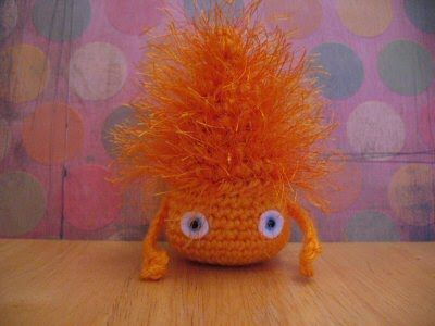 2000 Free Amigurumi Patterns: Critters Calcifer from Hauru no ugoku shiro!