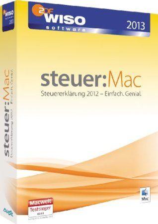 Wiso Steuer Mac 2013 Fur Steuerjahr 2012 Mac Einfach