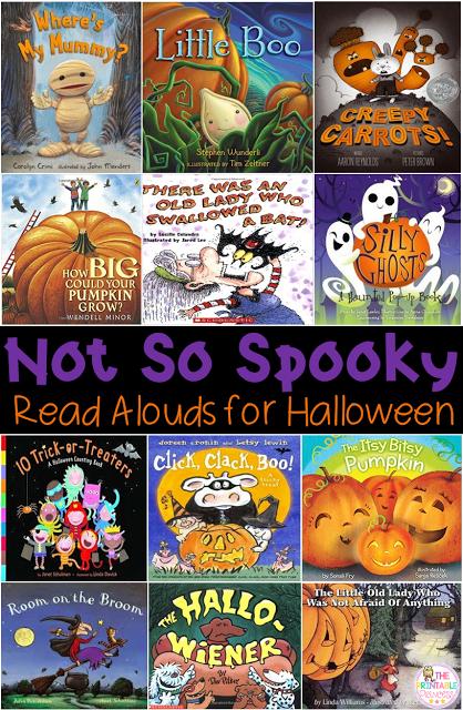 Halloween Activities for Kindergarten {with FREEBIES!} #halloweenactivities
