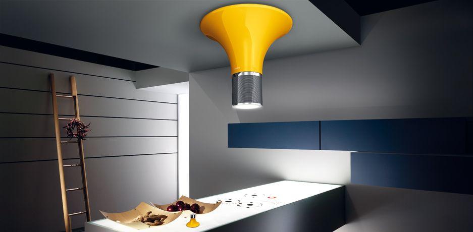wizard by fabrizio crisà for elica com lámpara grande que