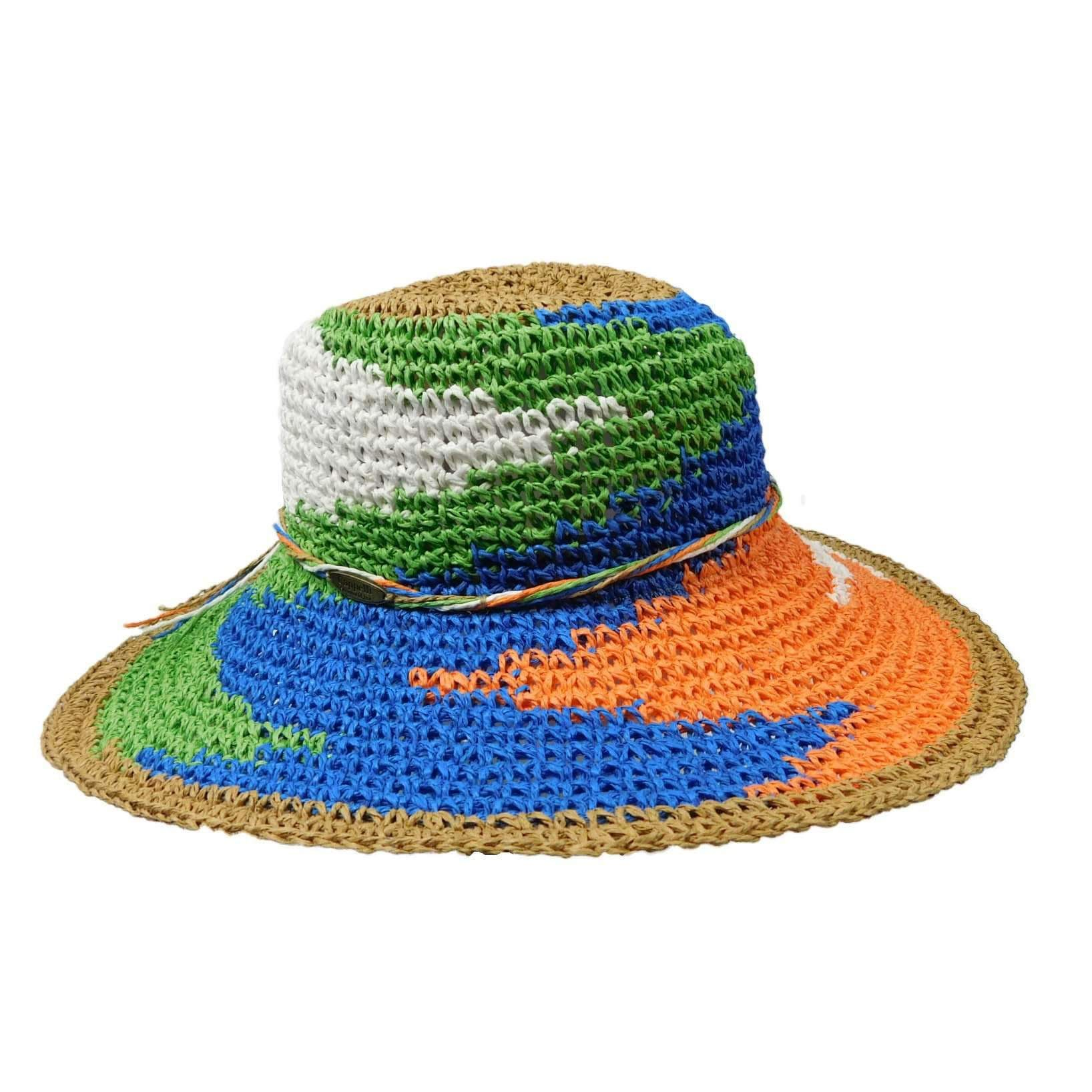 296d57850640c Hand Crocheted Toyo Floppy — SetarTrading Hats