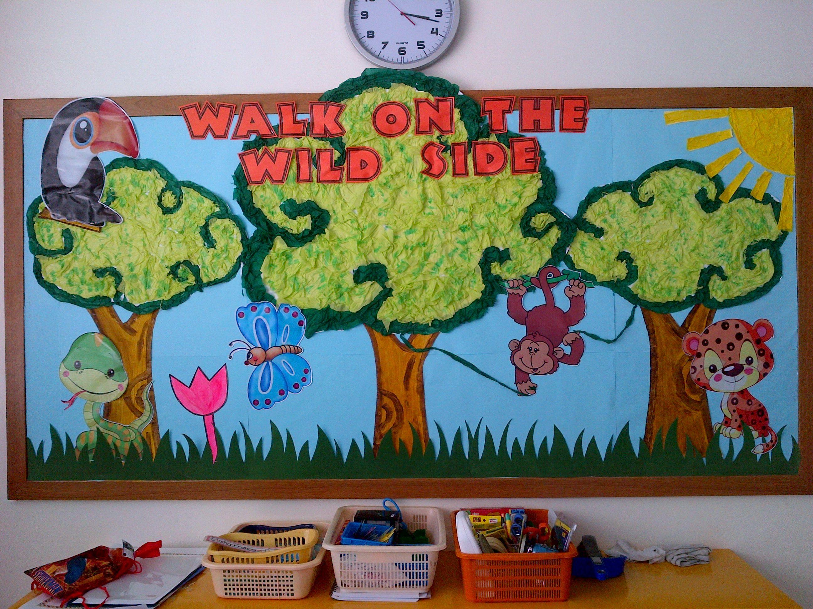 June Classroom Ideas ~ Summer classroom rainforest themes google search