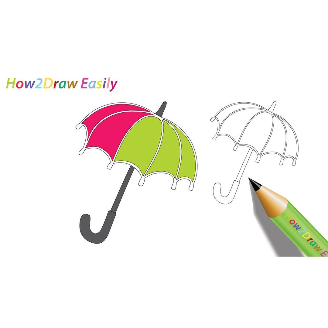 Umbrella Drawing Amp Coloring Umbrella Draw Drawing
