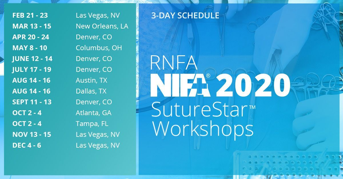 The nifa 3 5 day rnfa programs include online studies a