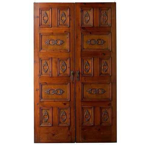 Antique Hand-Carved Spanish Doors - Antique Hand-Carved Spanish Doors Doors, Antique Doors And Door