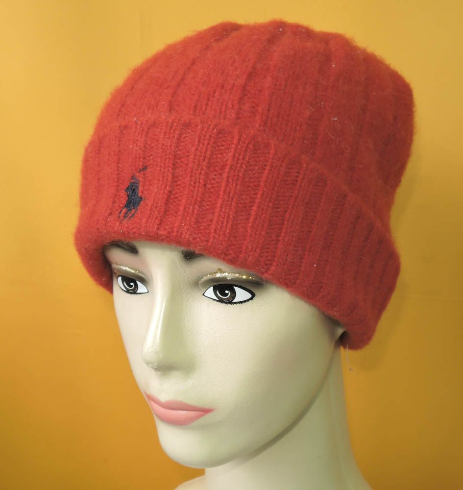 a4ca2794687ef7 Polo Ralph Lauren Beanie Ski Hat Vintage Signature Pony Designer Lambswool  Red Snow Cap (10/5) by InPersona on Etsy
