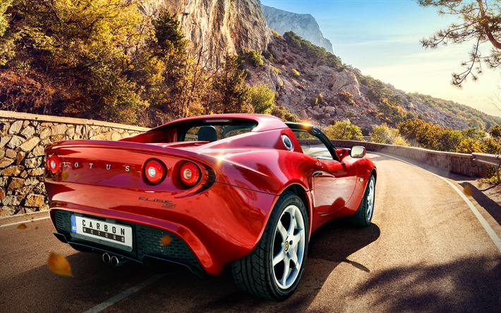 Superbe Download Wallpapers Lotus Elise Series II, 2017 Cars, Sportcars, Carbon  Motors, Tuning
