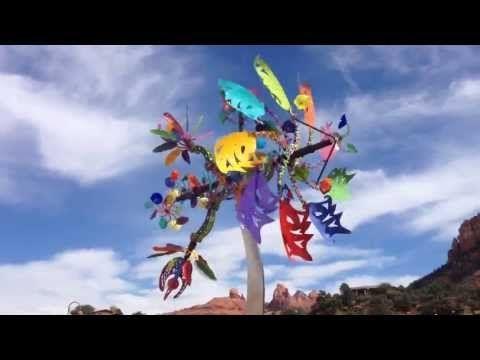 Kinetic Wind Sculptures Sedona Arizona, Andrew Carson - YouTube | I ...