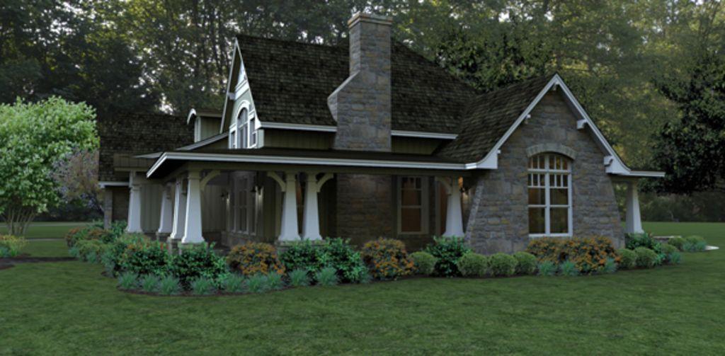 Craftsman Other Elevation Plan Sq Ft Bedrooms - Craftsman house plans elevation