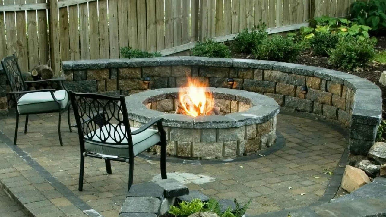 Cheap DIY Fire Pit Ideas 2018 | How To Build Survival Stone Backyard Grill  Patio Homr Depot