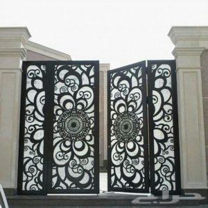 أبواب ليزر أجمل أشكال الأبواب الحديثة صور مدينة الرياض Door Design Design Modern