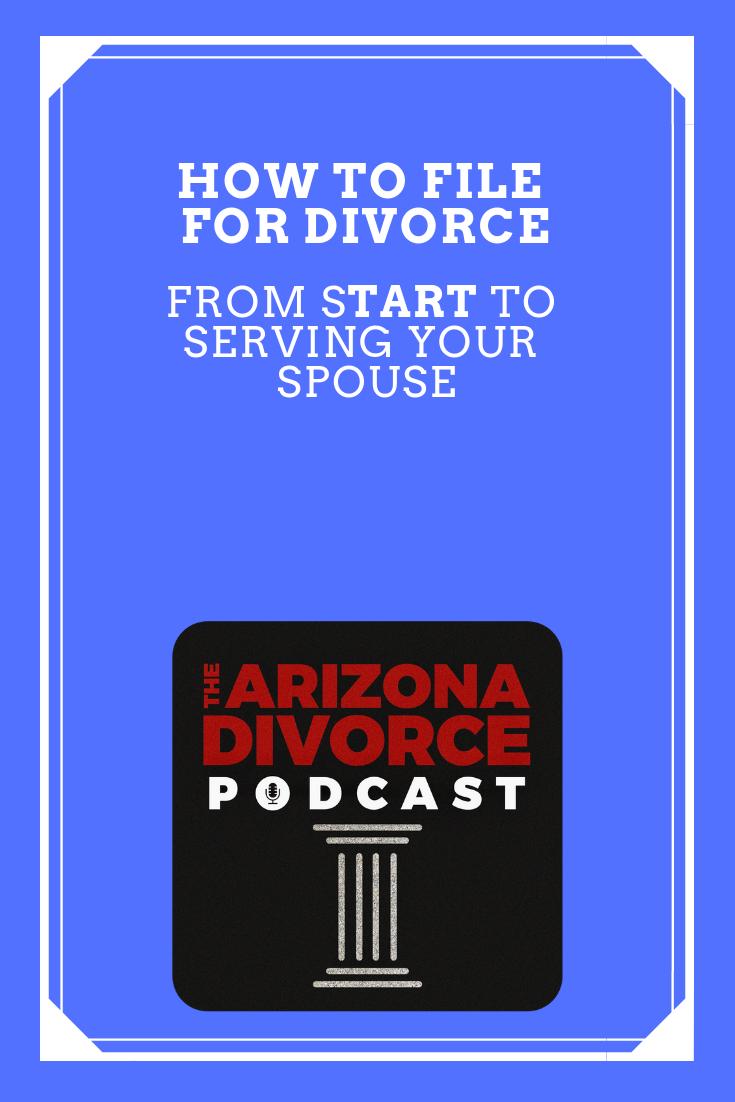 Podcast Episode 9 How to file for divorce Divorce