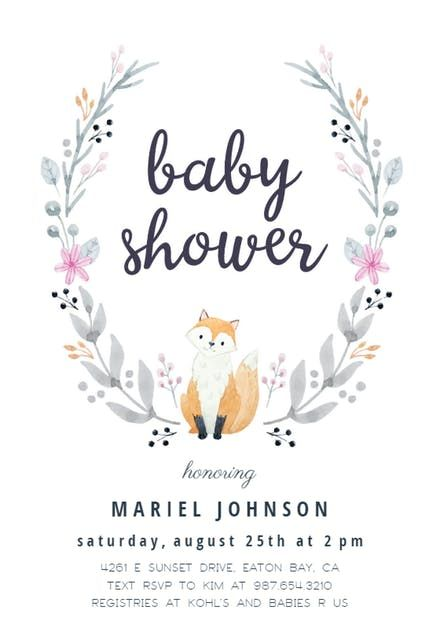 Free Online Baby Shower Invitations Templates Free Baby Shower Invitation Templates  Greetings Island  Shrimant .