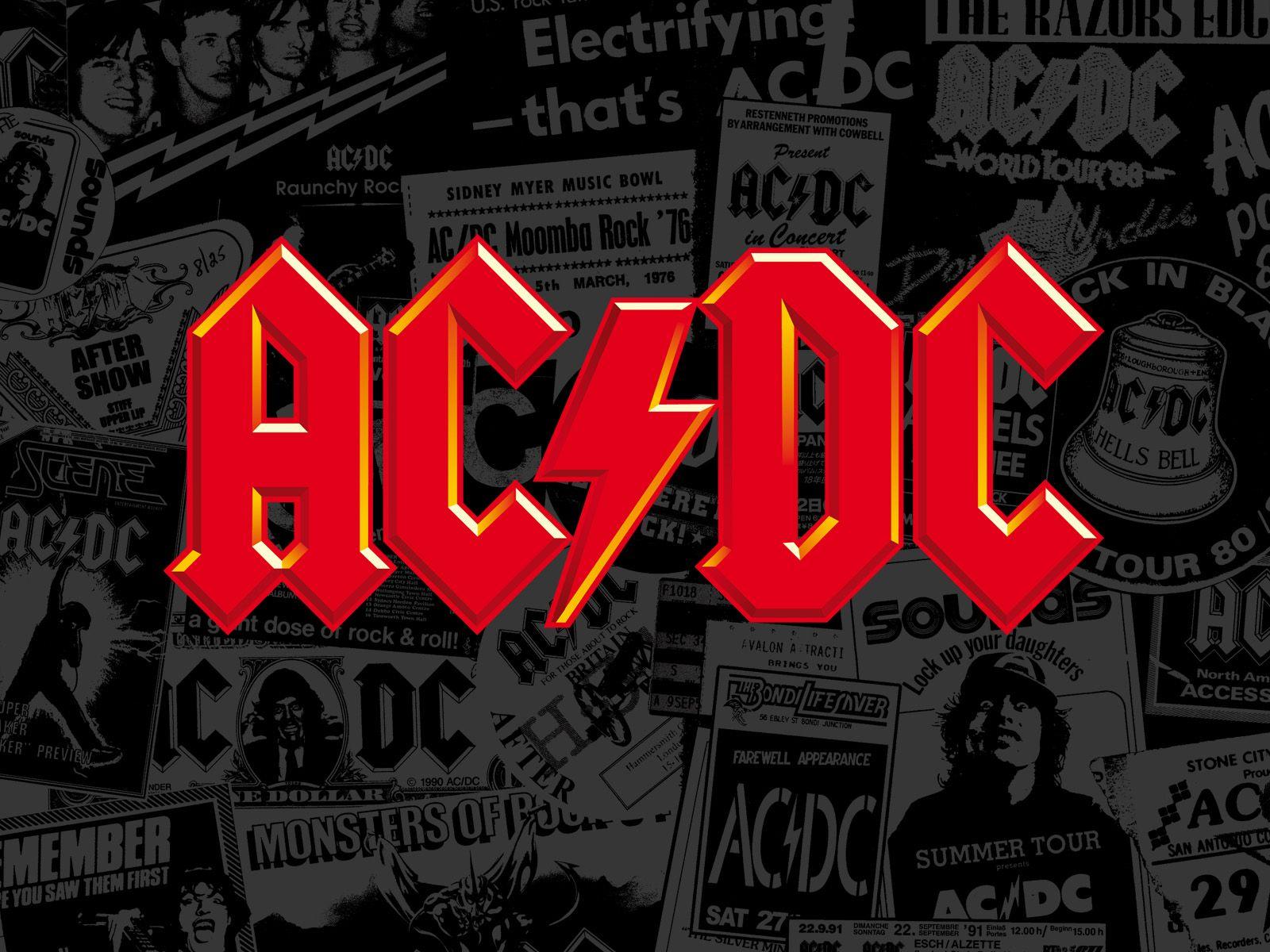 ac dc logo ultra hd wallpaper logo