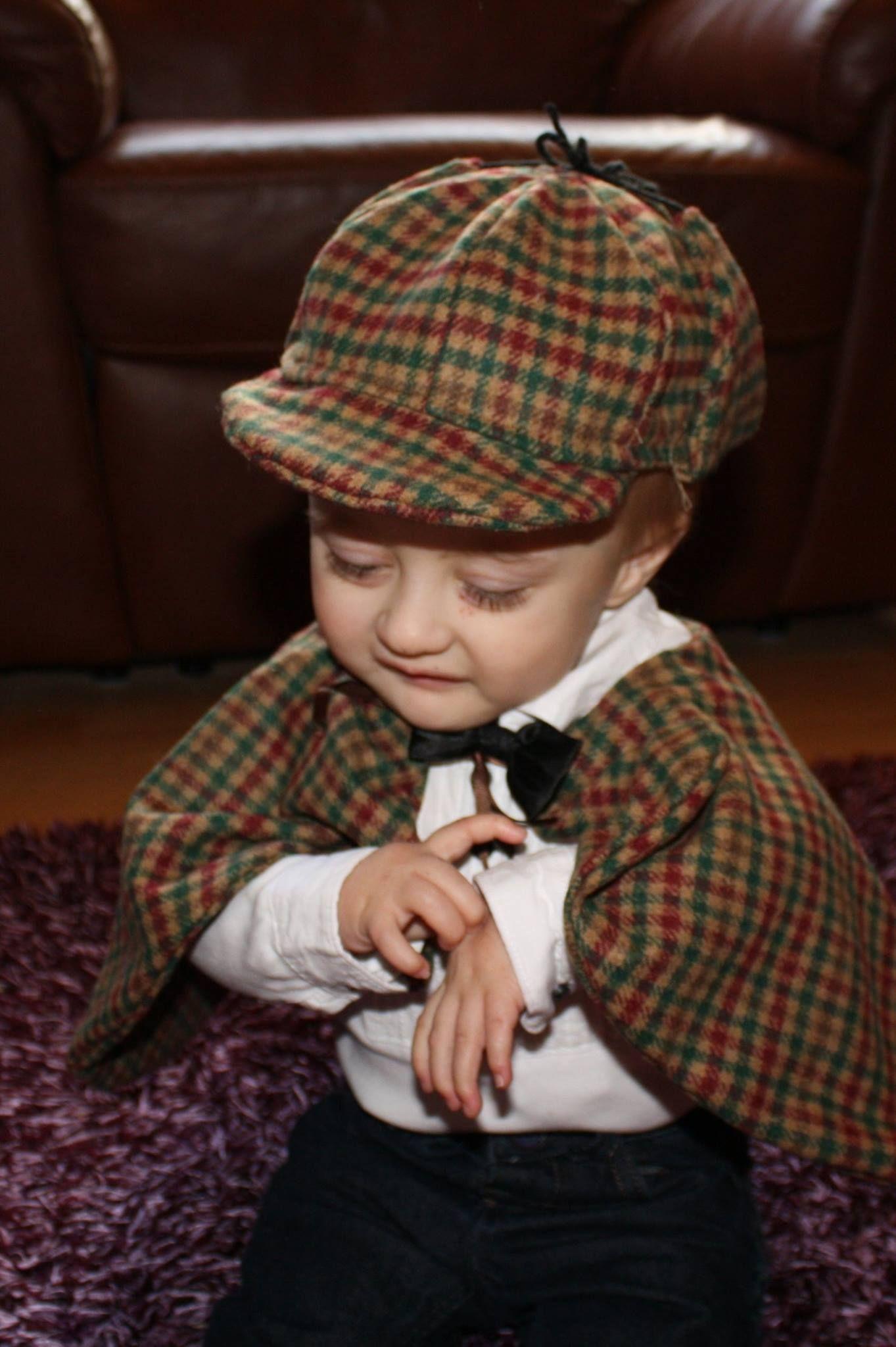 Mini Sherlock! itsamystery ucd2014 Child day