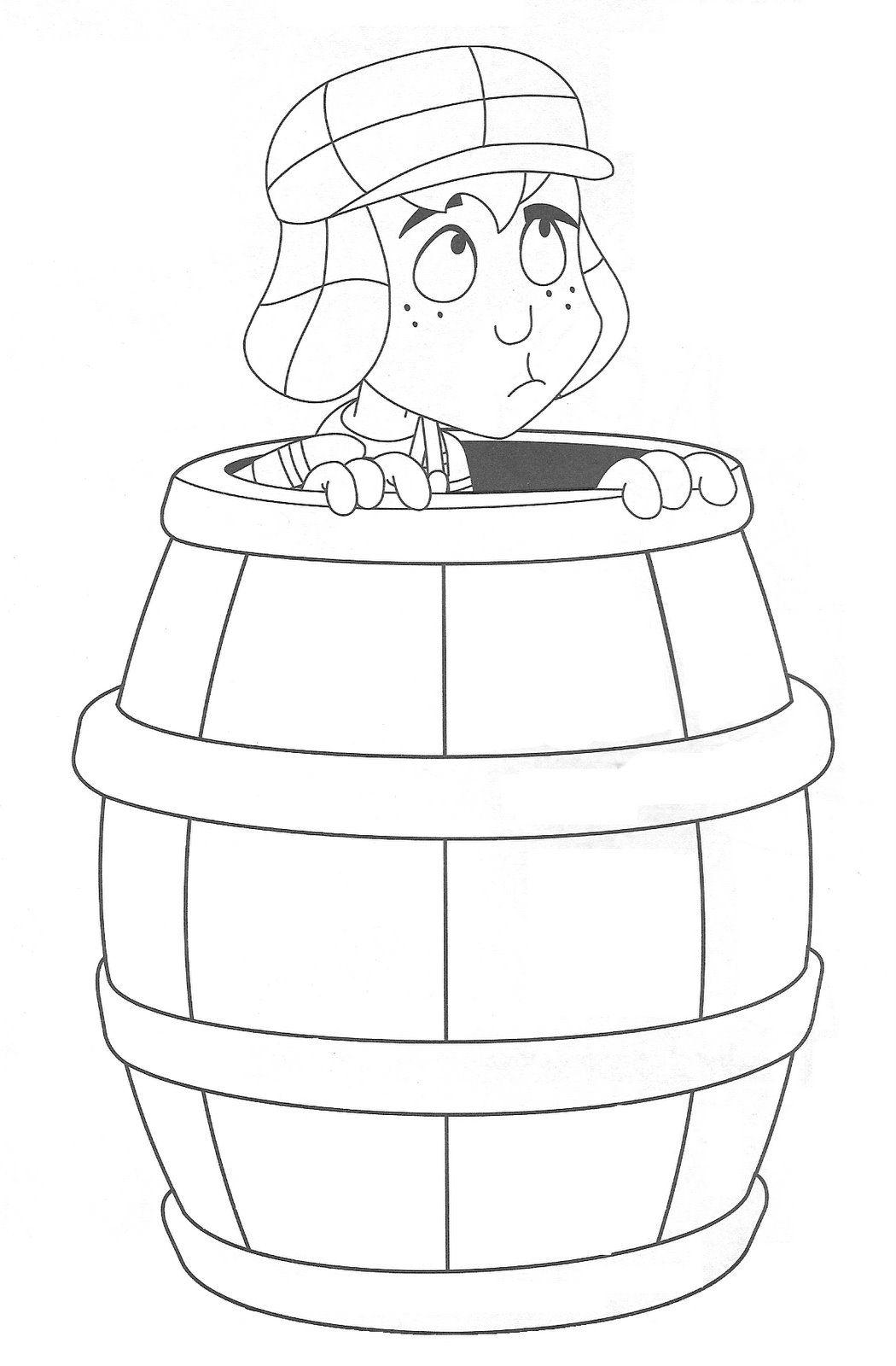 El Chavo Animado Para Colorear Dibujos Chavo 09