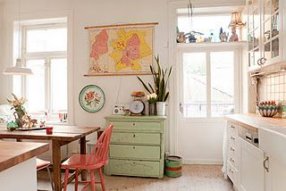 eclectic kitchen love