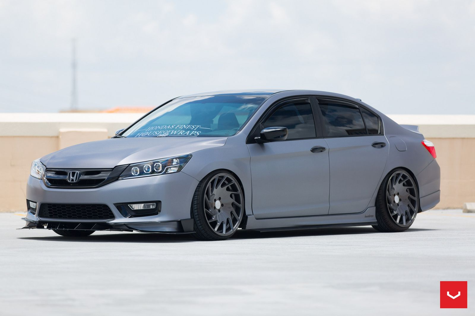 Honda Accord VLE1 Graphite © Vossen Wheels 2015 1045