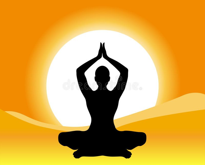 Yoga Meditation Silhouette Illustration Of Yoga Meditation Sponsored Meditation Yoga I Shiva Meditation Meditation Benefits Meditation Techniques