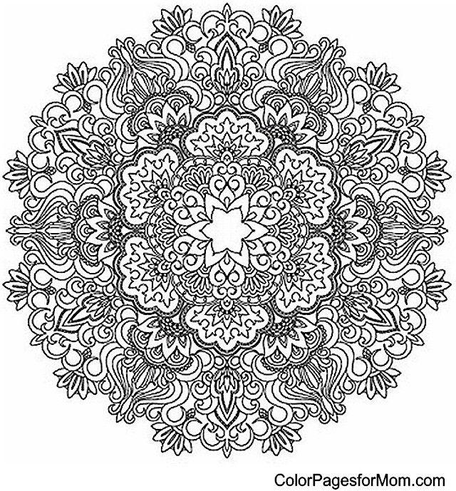 5 Reasons Why You Need a Facebook Page   Mandala coloring, Mandala ...