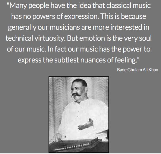 Bade Ghulam Ali Khan Motivational Quotes For Life Classical Music Quotes Ghulam Ali