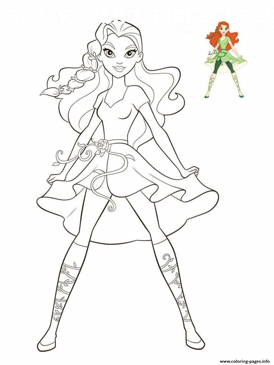 6 Super Hero Girls Coloring in 2020 | Superhero coloring ...
