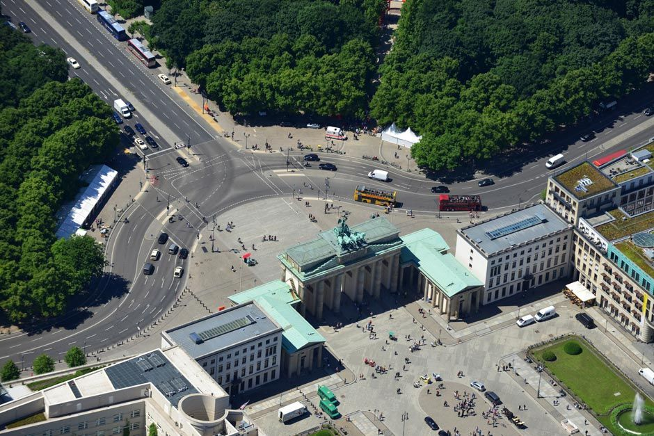 Das Ist Berlin Von Oben Berlin Von Oben Berlin Reiseziele