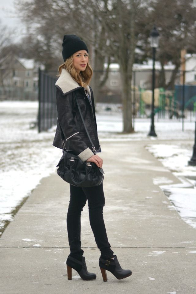 staying warm and chic. a warm winter: allie wears - a boston personal style blog