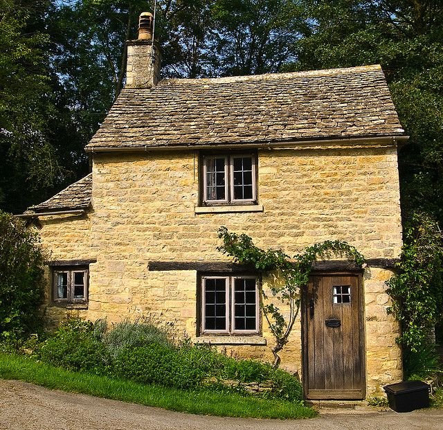 English Stone Cottage quaint stone cottage. reminds me of the english village they