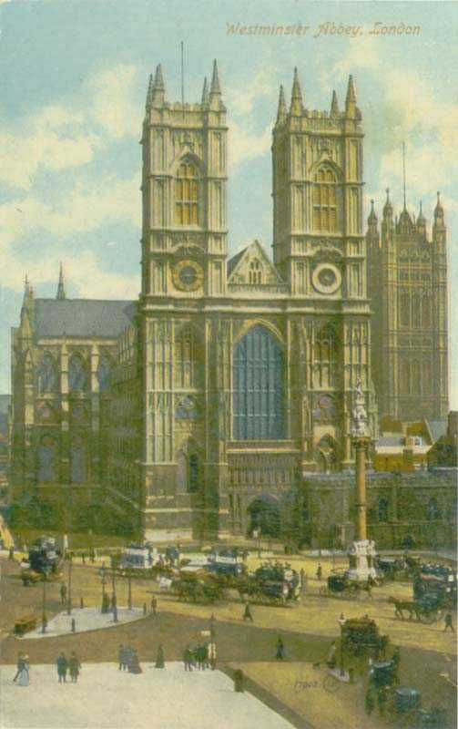 London, Westminster Abbey 1910's