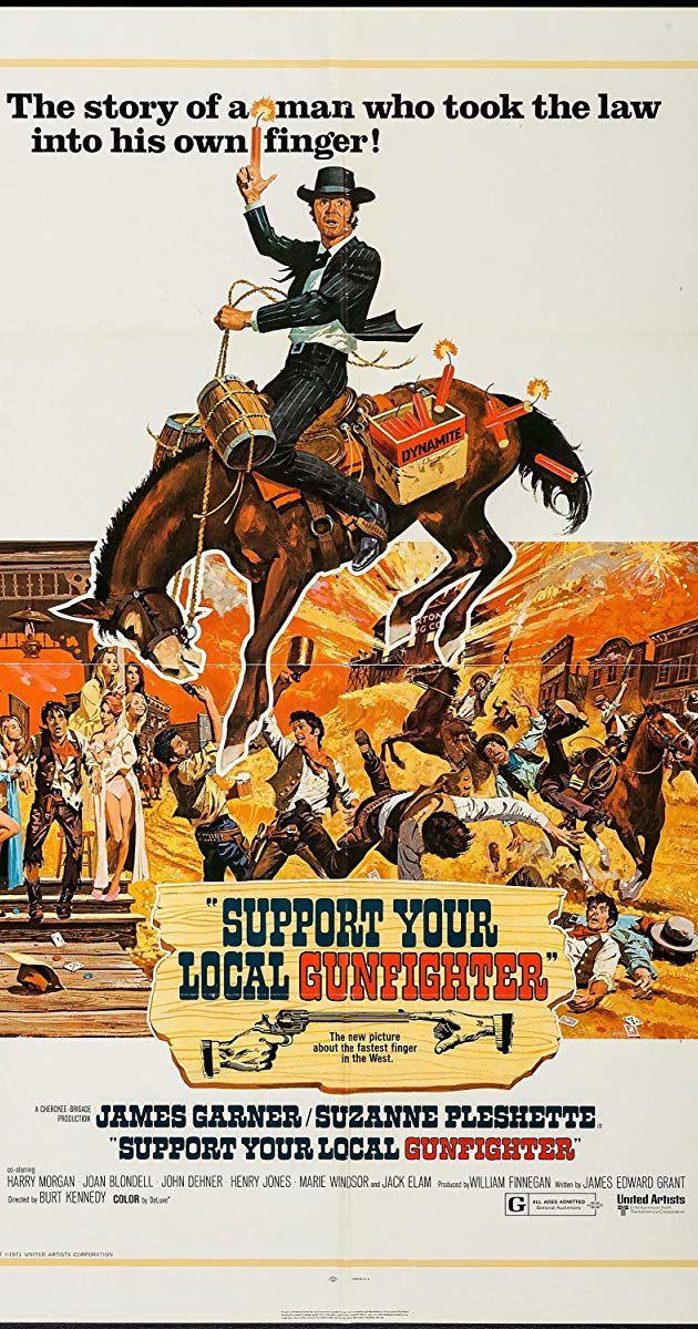 Support Your Local Gunfighter (1971) Director Burt