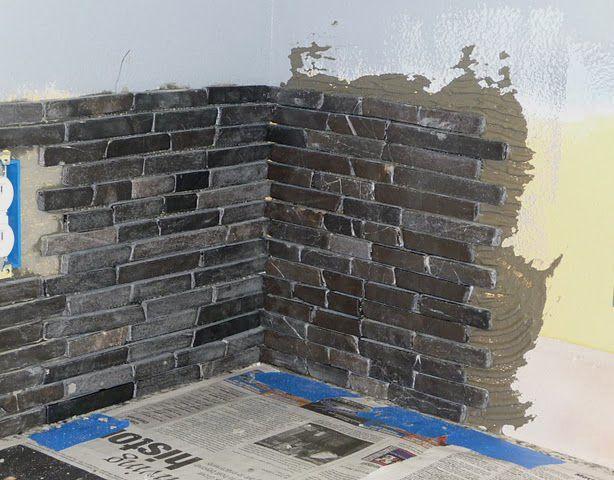 how to tile backsplash corners
